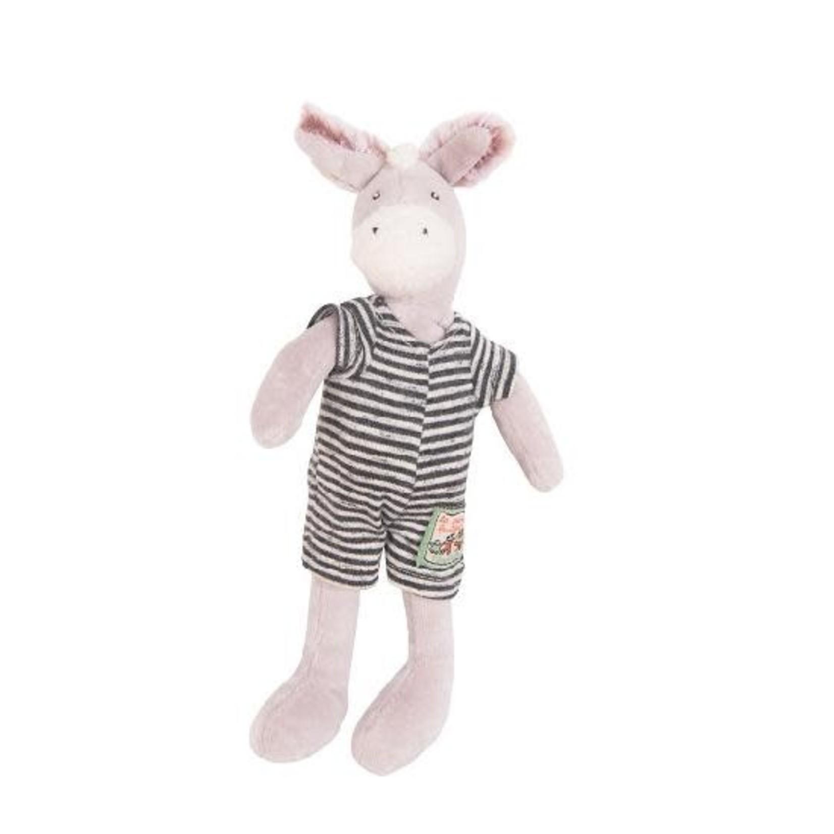 Moulin Roty Barnabe Donkey Soft Toy 20cm