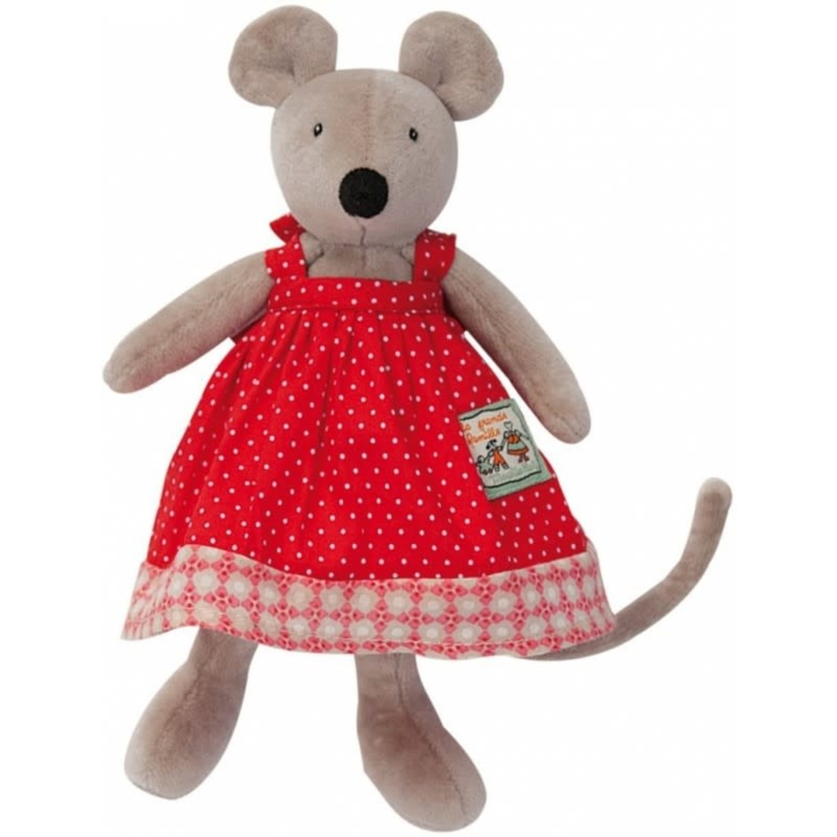 Moulin Roty Nini Mouse Soft Toy 20cm