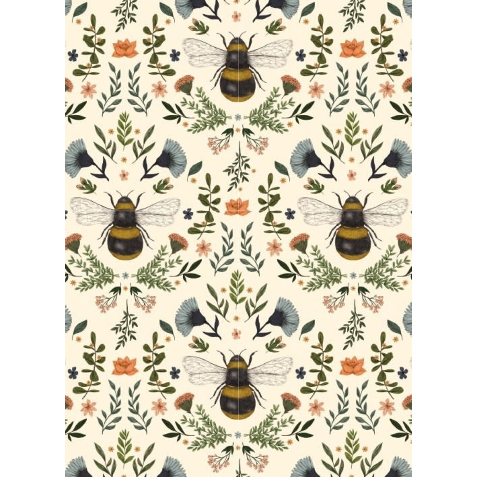 Museums and Galleries Bumblebees card