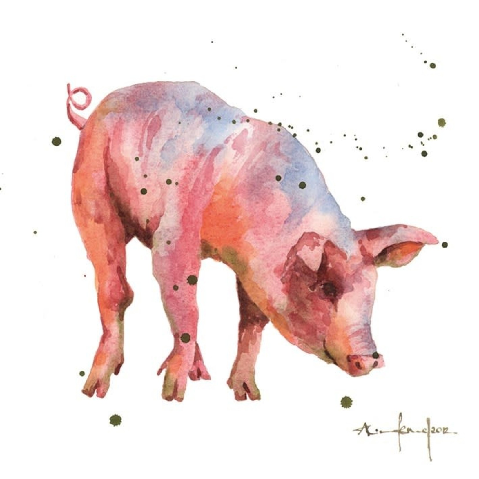 Museums and Galleries Piglet card