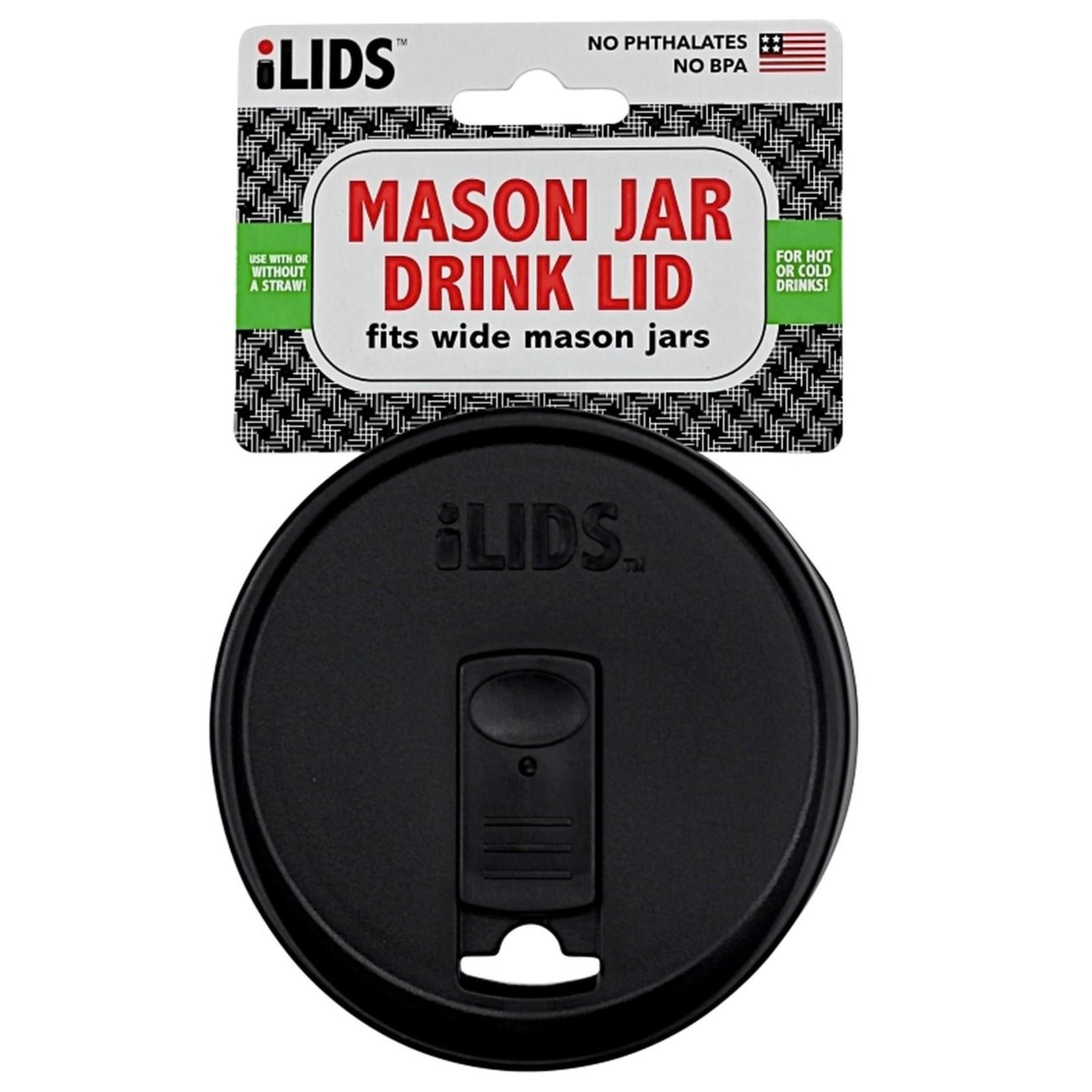 iLids Mason Jar Lid Wide Mouth