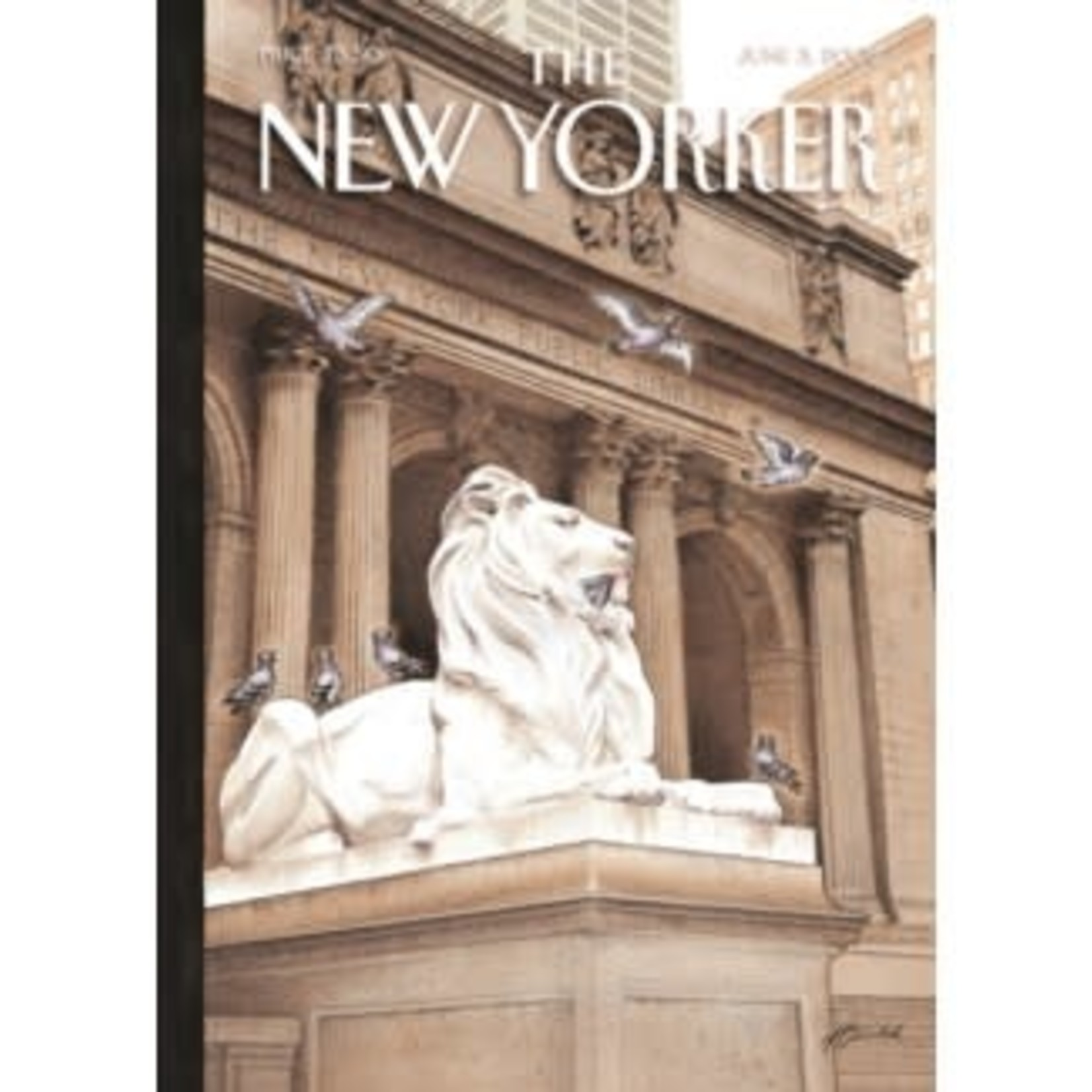 New Yorker Library Lions