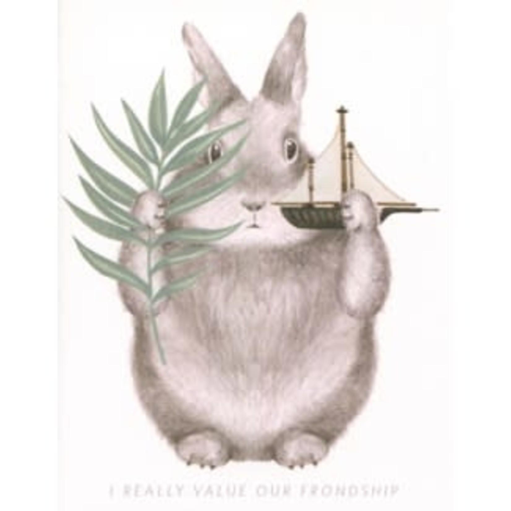 Half Penny Friendship Bunny