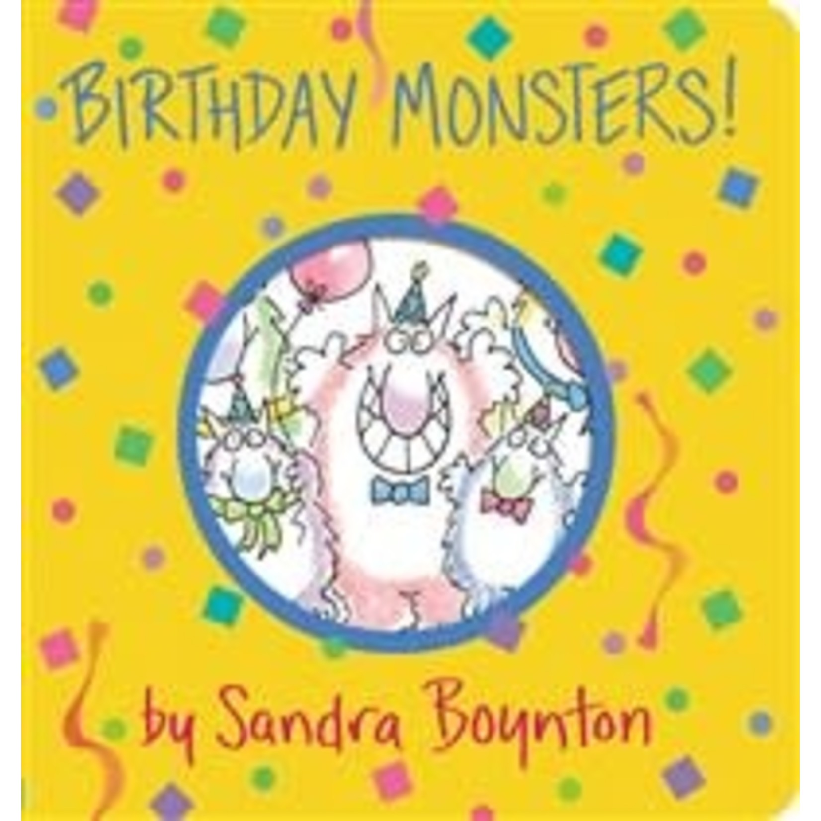 Sandra Boynton Birthday Monsters