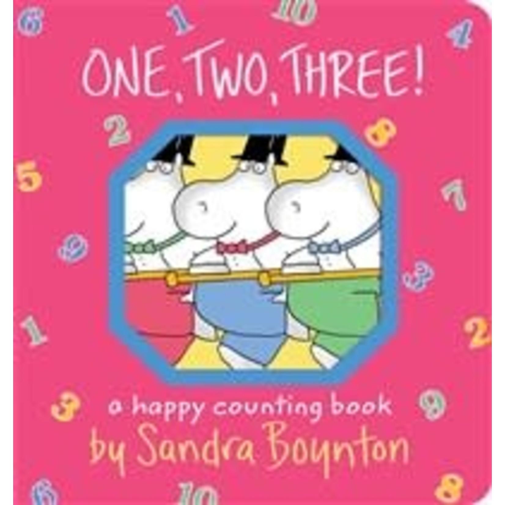Sandra Boynton One Two Three