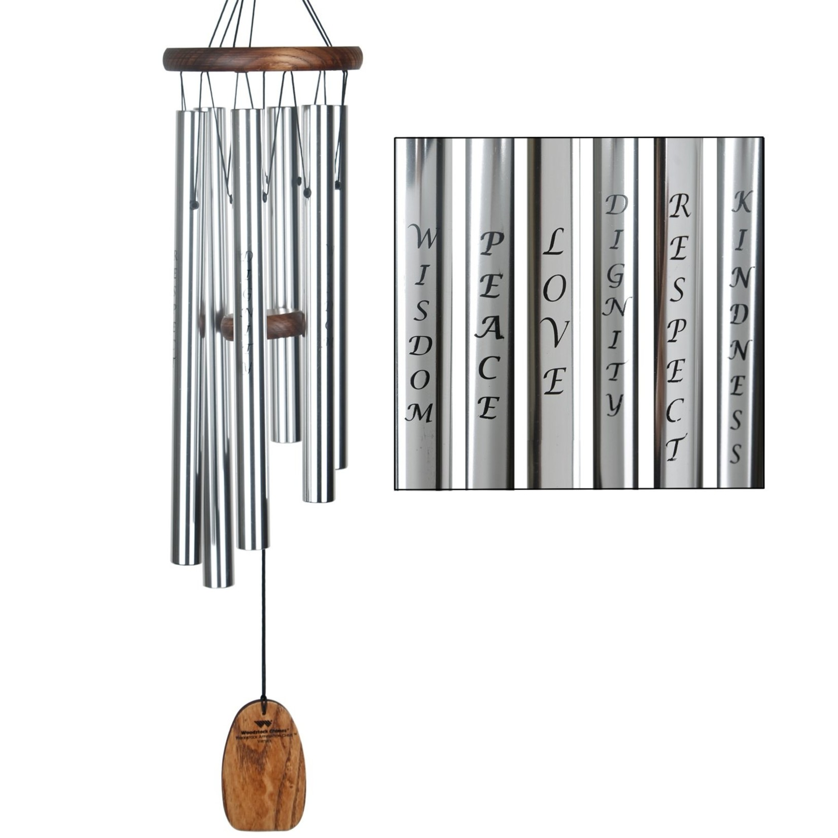 Woodstock Chimes Virtues Affirmation Chime