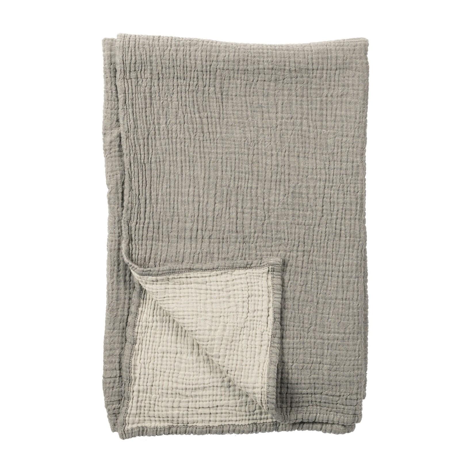 Pokoloko Crinkle Baby Blanket Grey