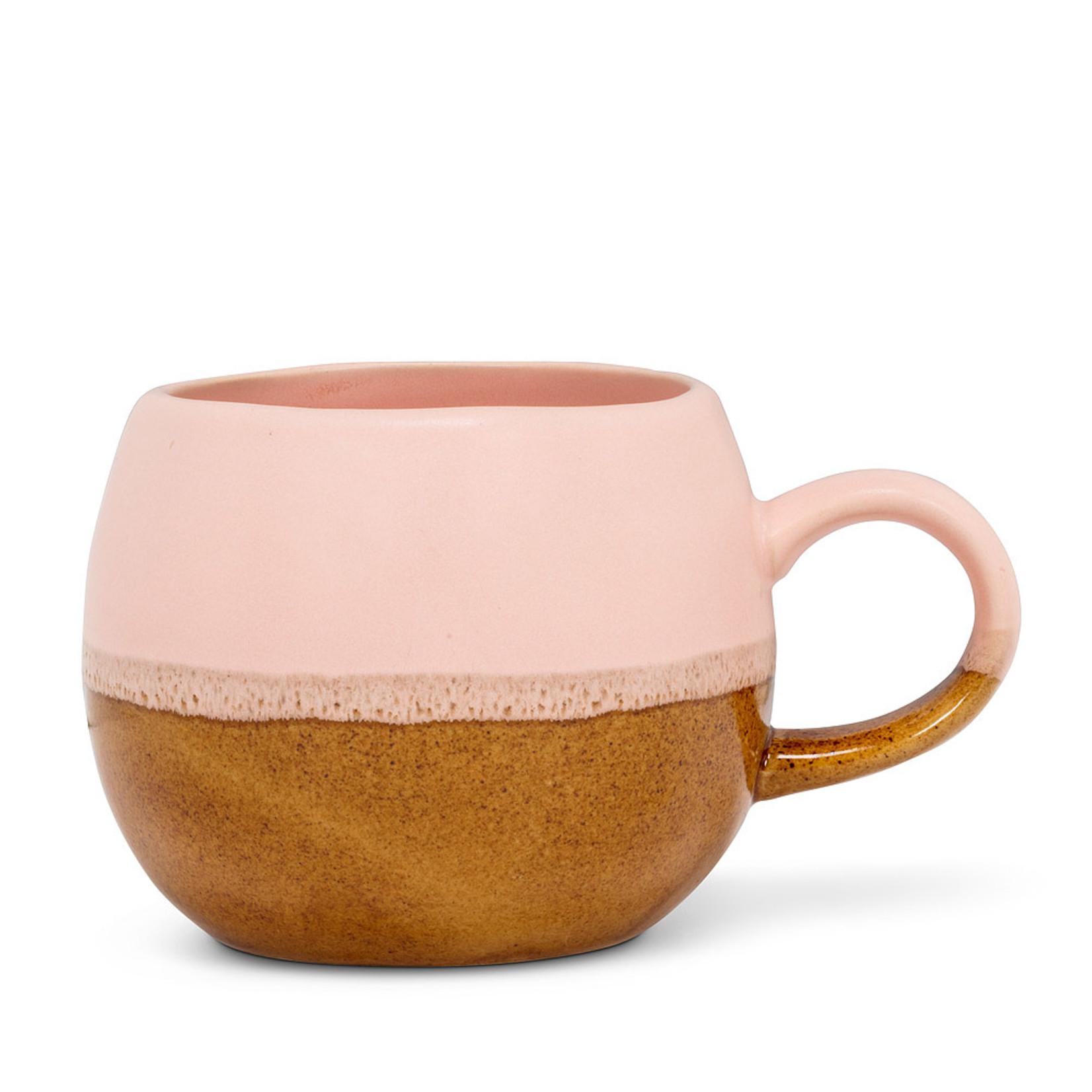 Pink/Brown Ball Mug