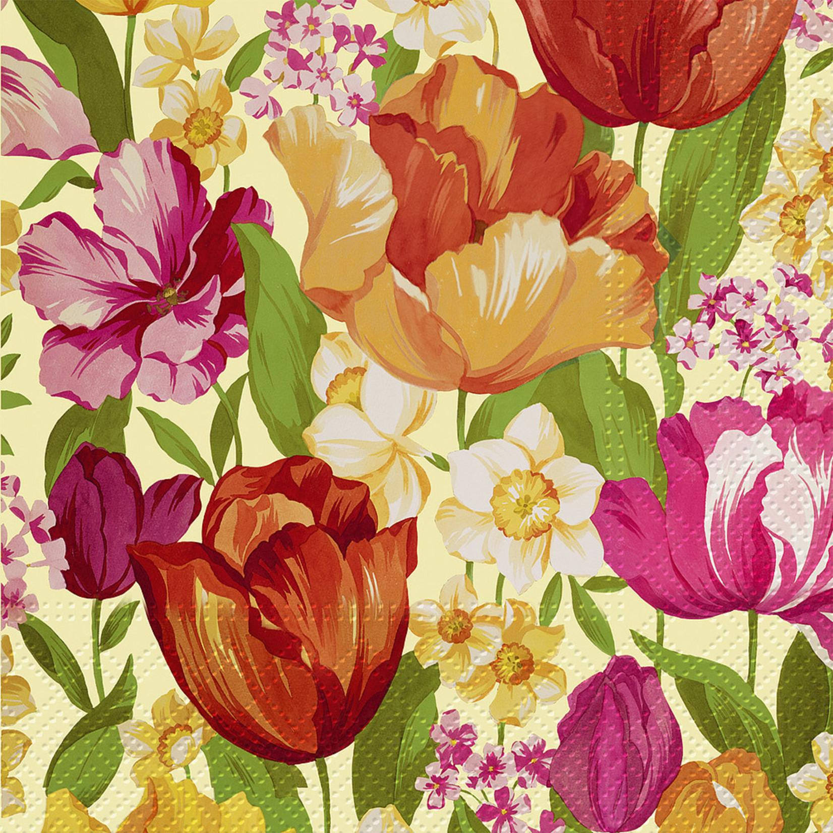 Abbott Flowering Spring Paper Napkin