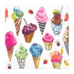 Abbott small Ice Cream Paper Napkin