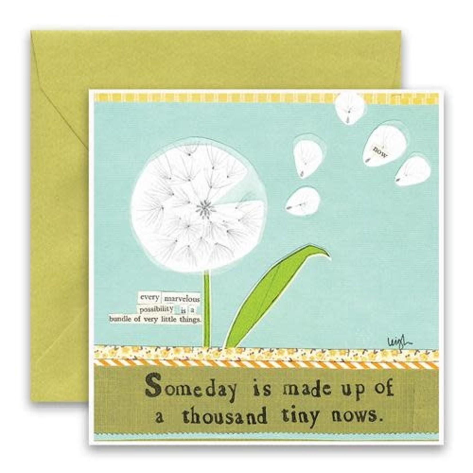 Curly Girl Design Dandelion card