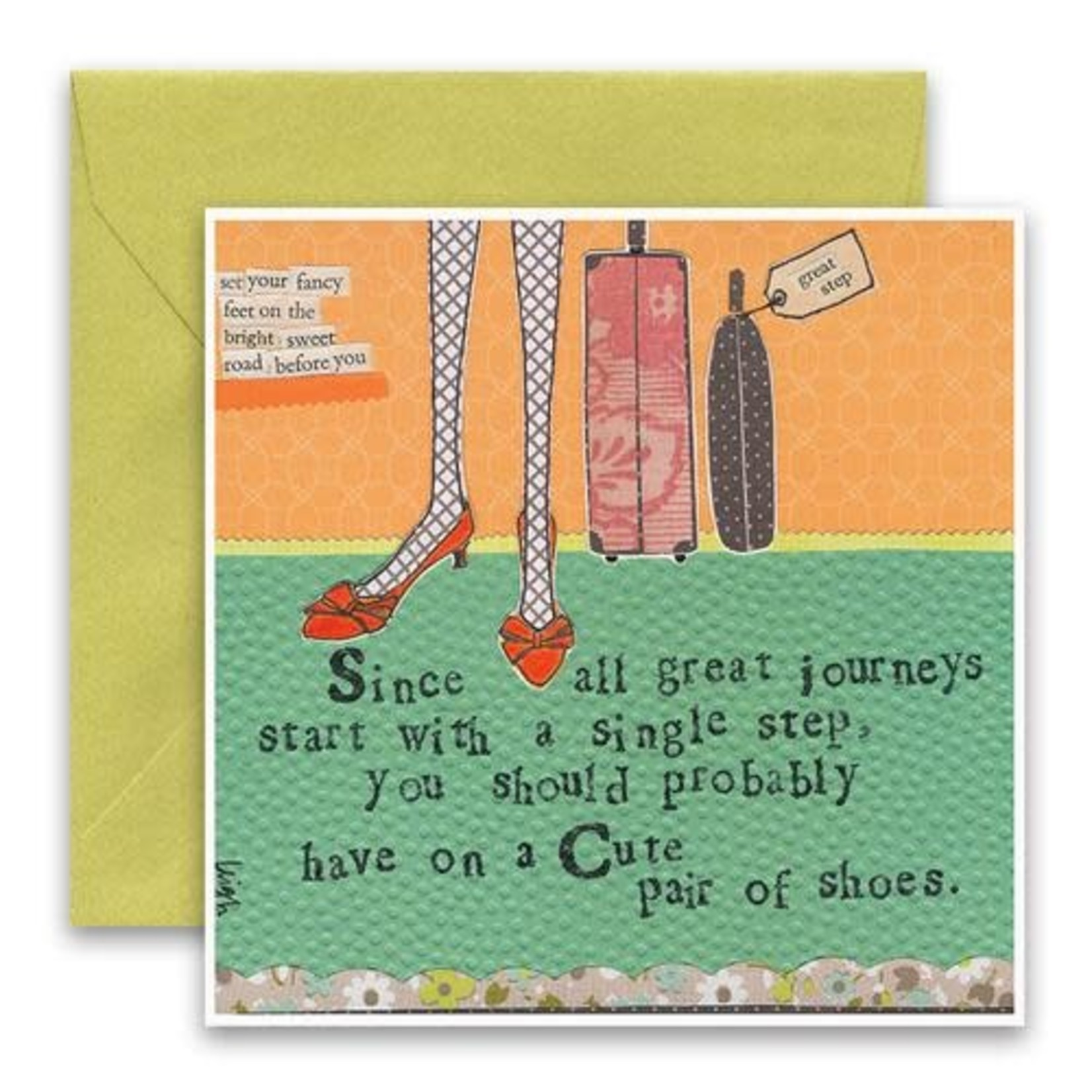 Curly Girl Design Great Journey Card