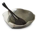 Hilborn Pottery Design Large Salad Bowl
