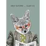 Calypso Cards Silver Fox Card