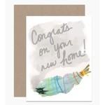 Dear Hancock New Home Sage card