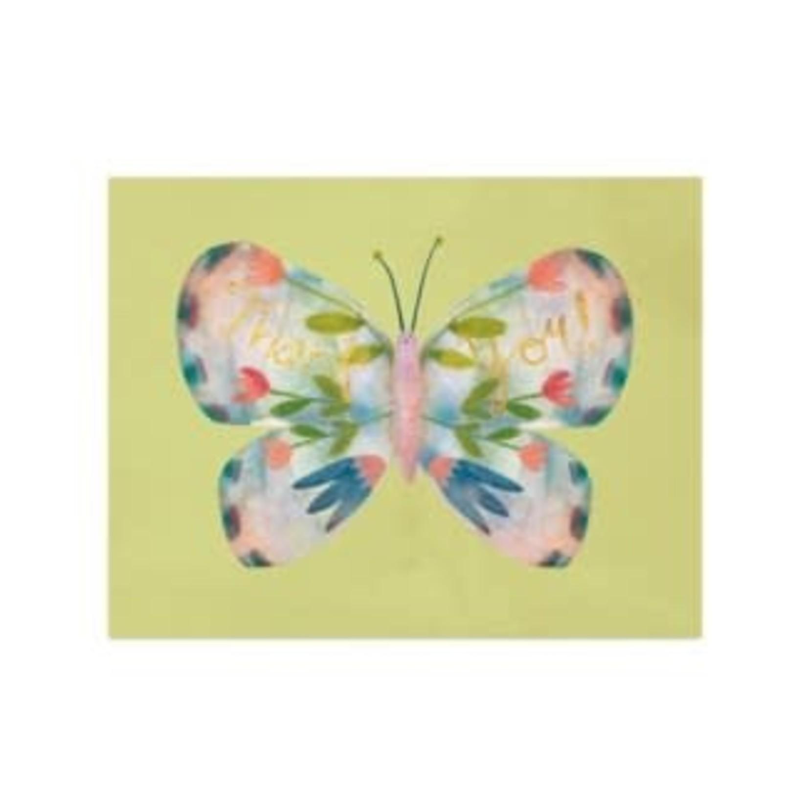 Half Penny Butterfly Wings Card
