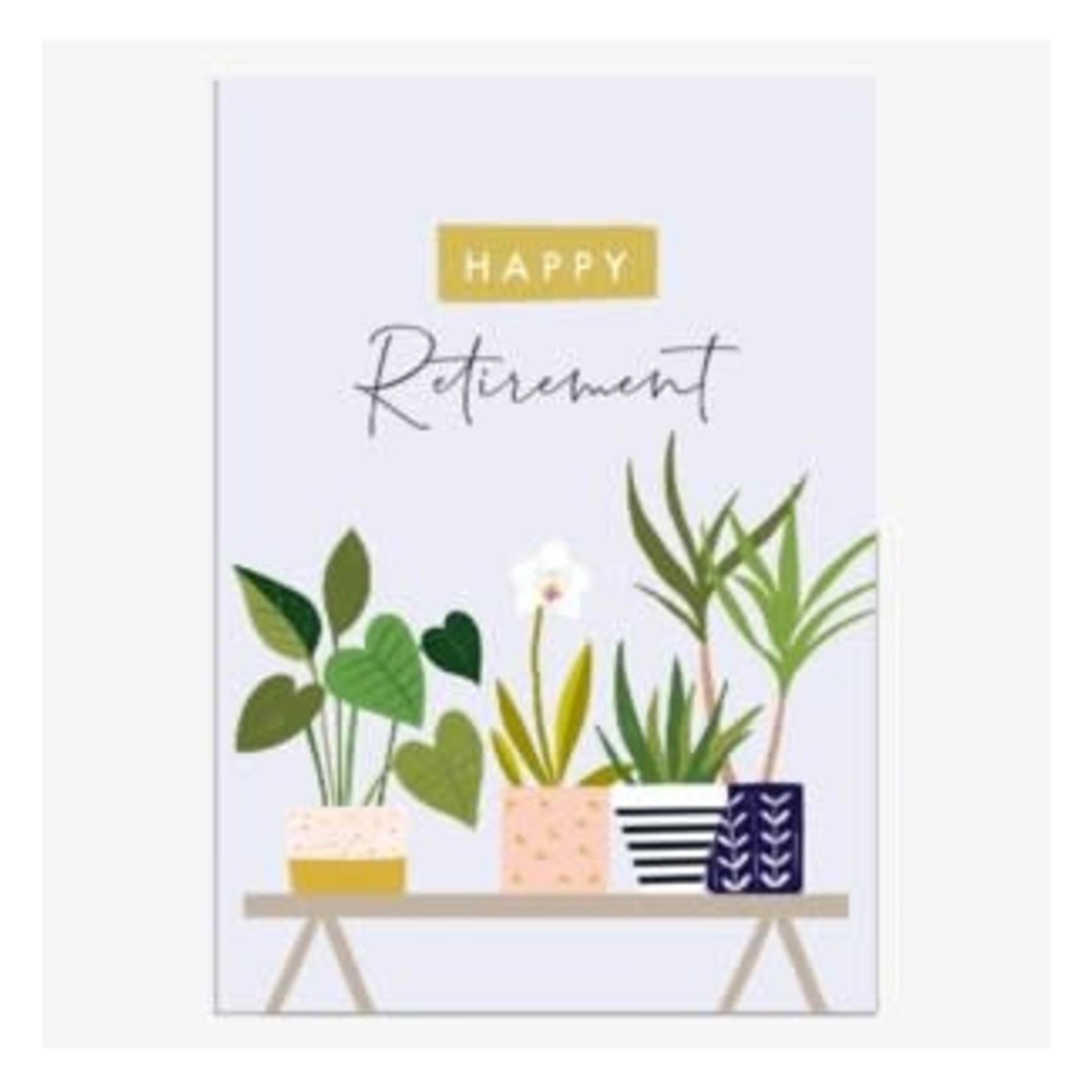 Think of Me Designs Happy Retirement Plants