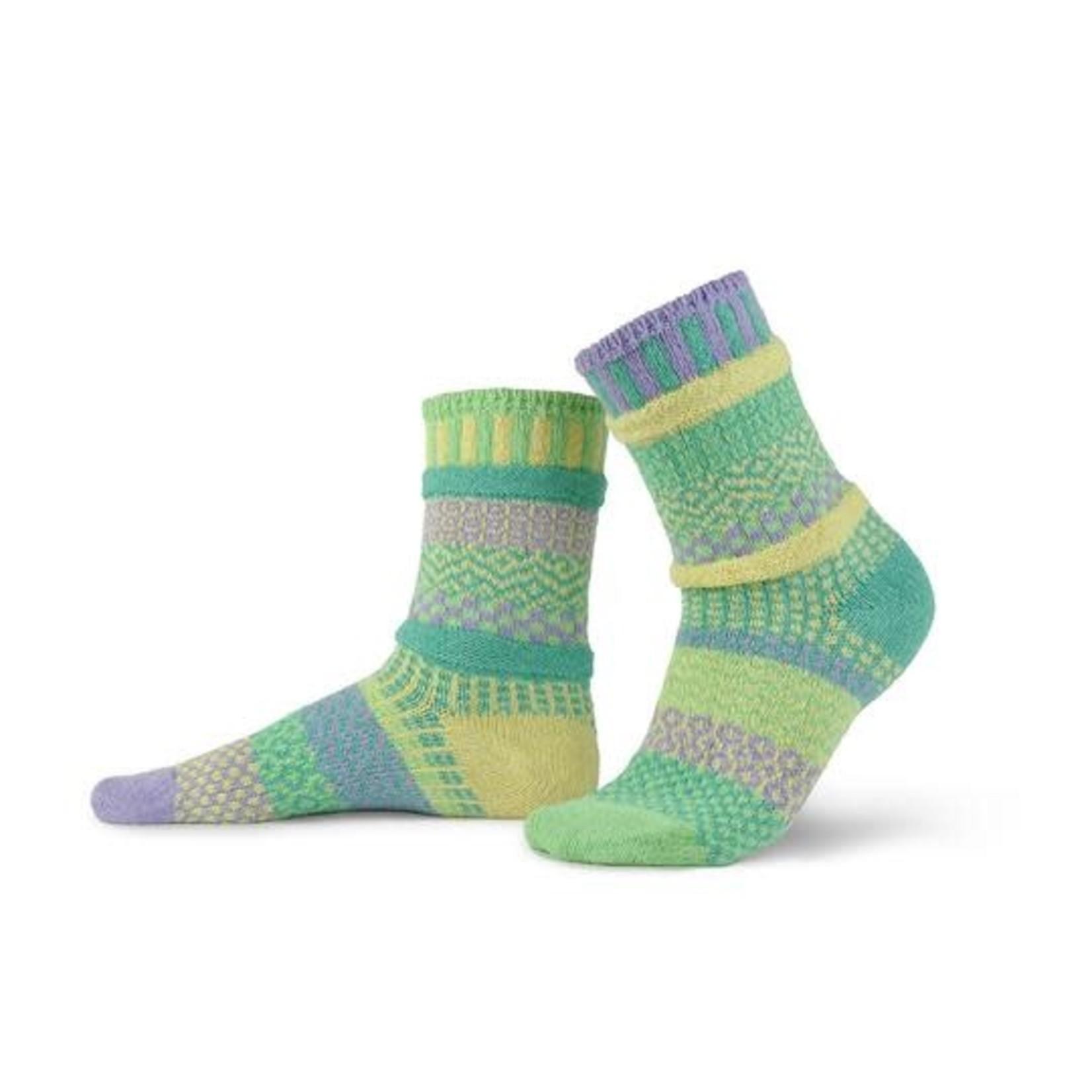 Solmates Chick-a-dee crew socks