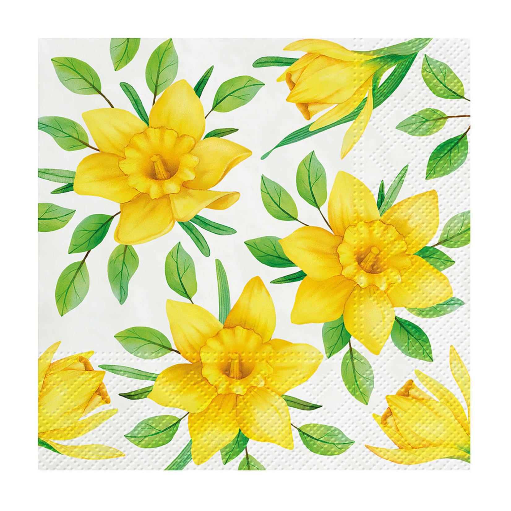 Abbott Daffodils in Bloom sm Napkin