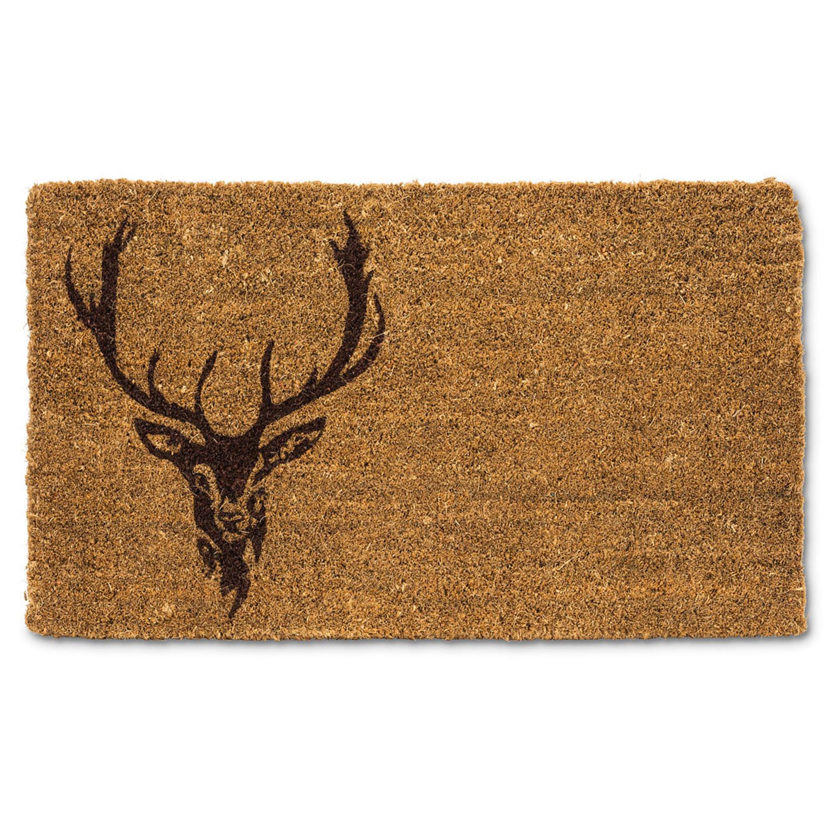 Abbott Stag Head Doormat