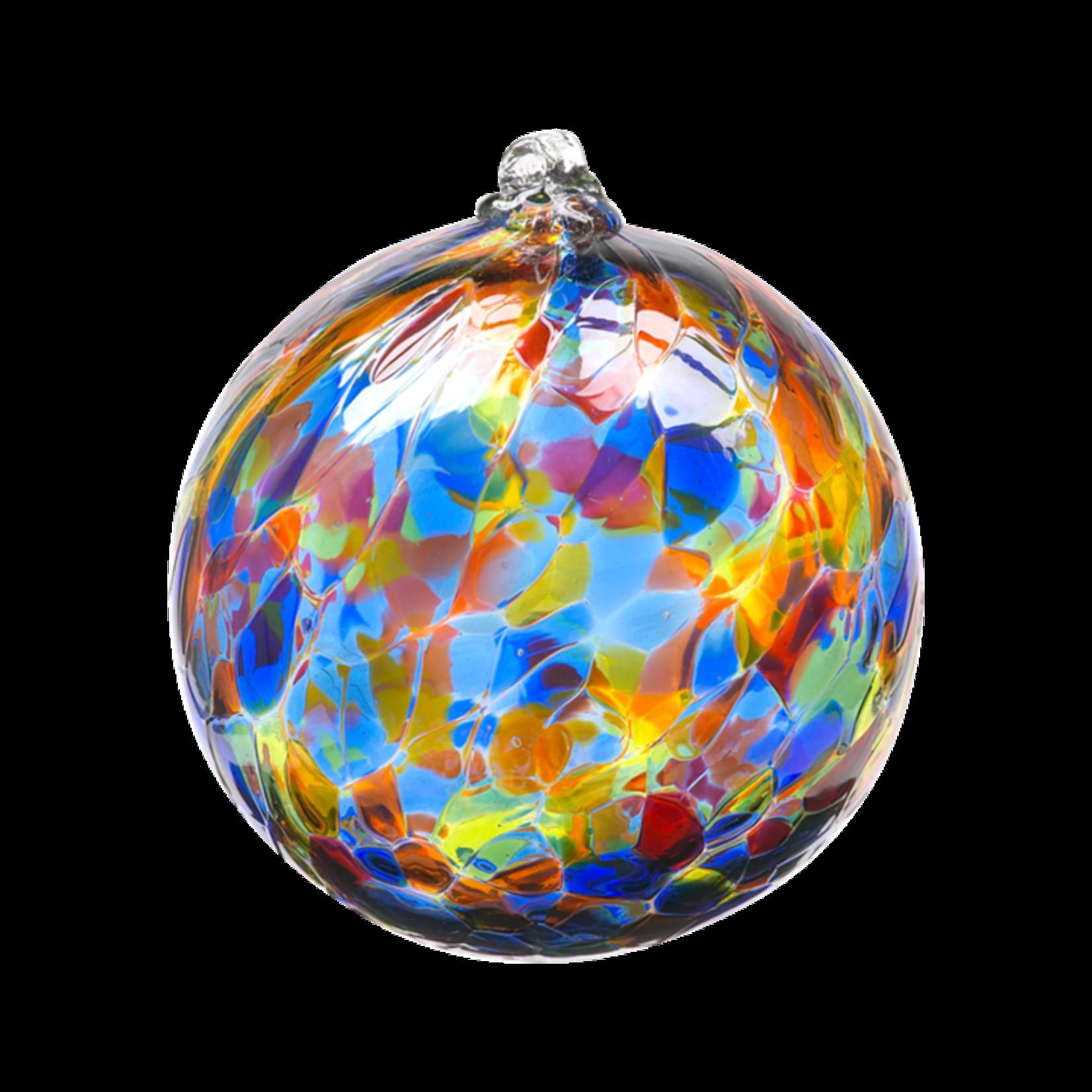 Kitras Art Glass Inc. Calico Ball
