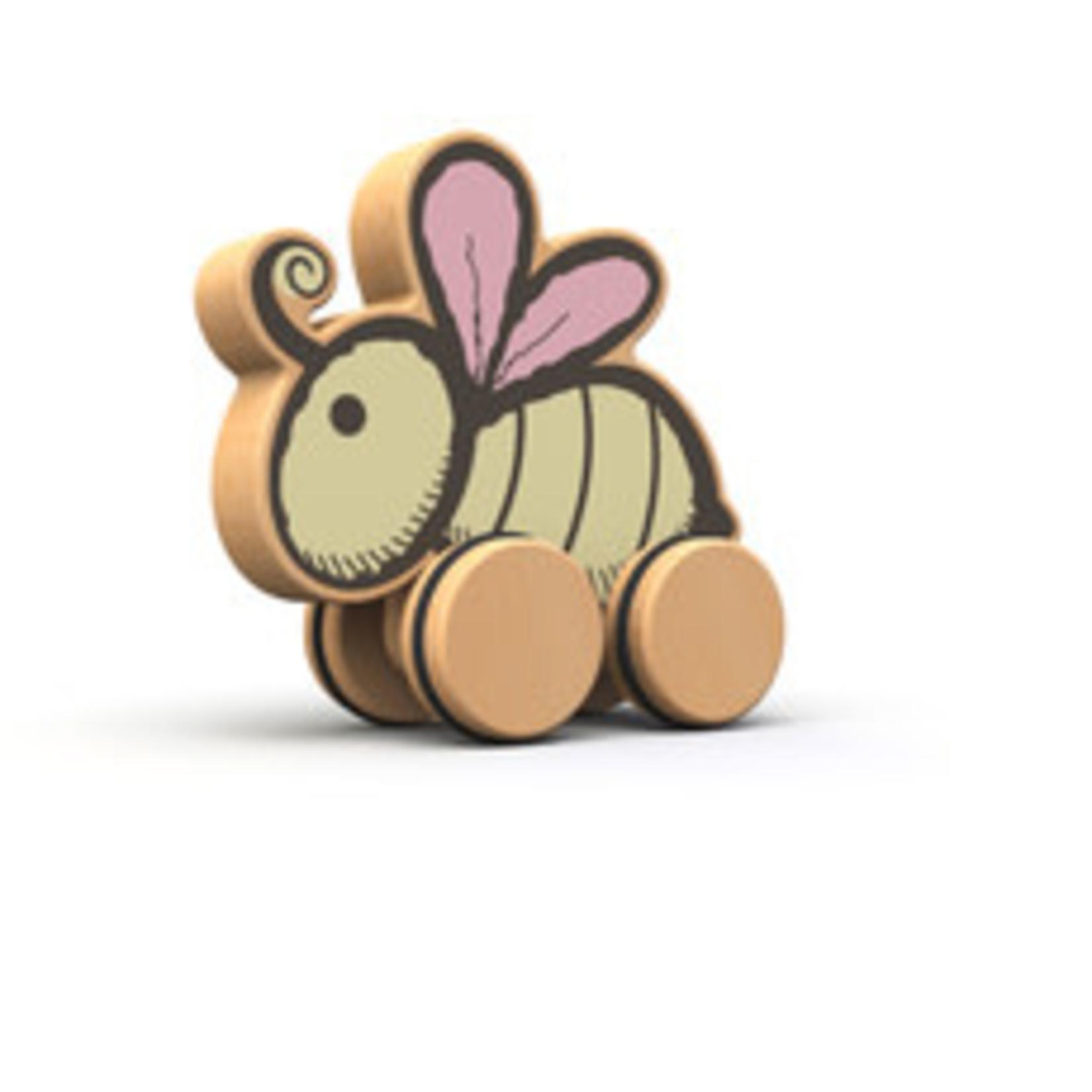 BeginAgain Toys PushAround-Bee