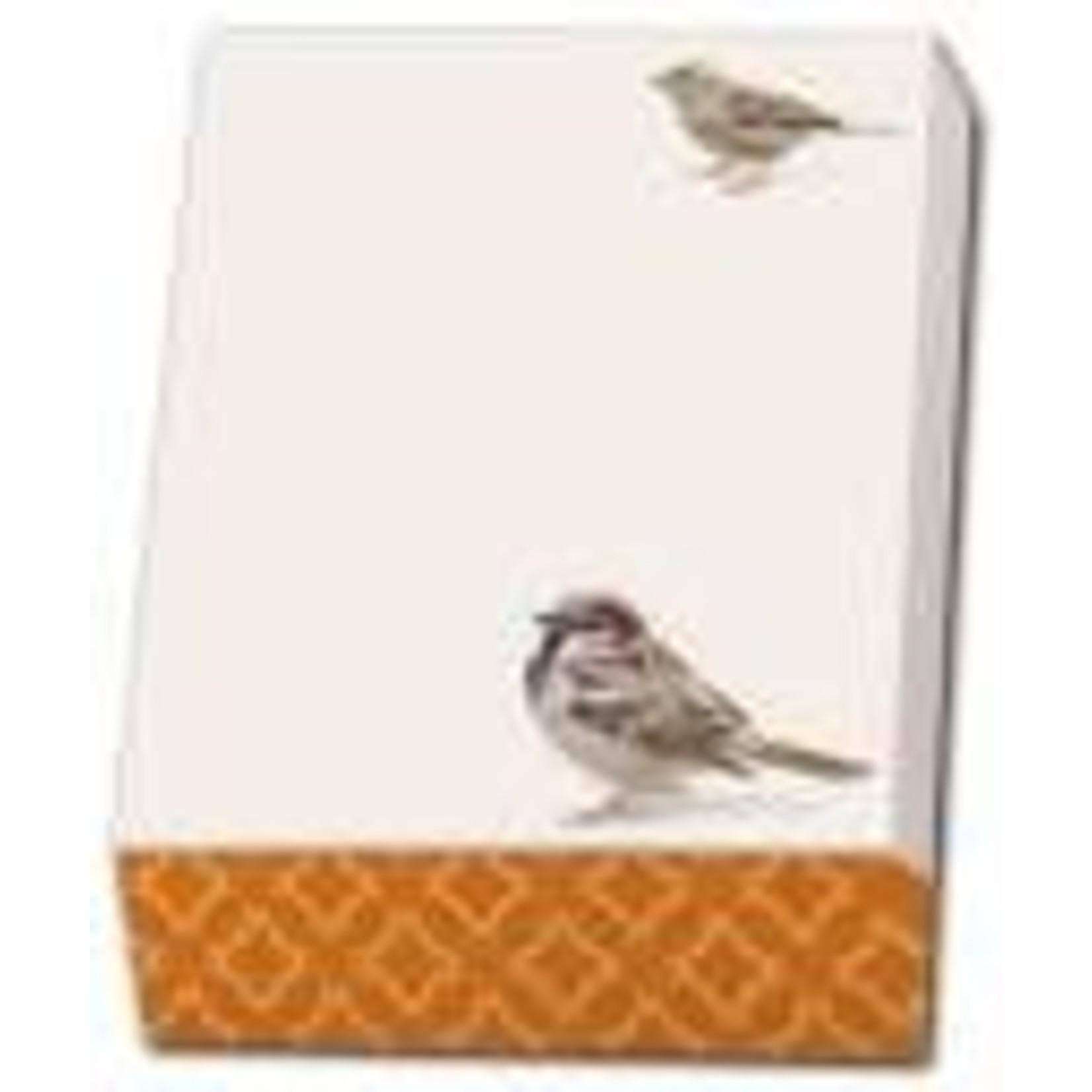Bekking & Blitz Sparrow Notepad