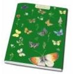 Bekking & Blitz Green Butterfly Notebook