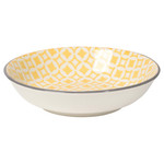 Yellow Diamond Dip Bowls