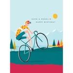 Calypso Cards Wheelie Birthday