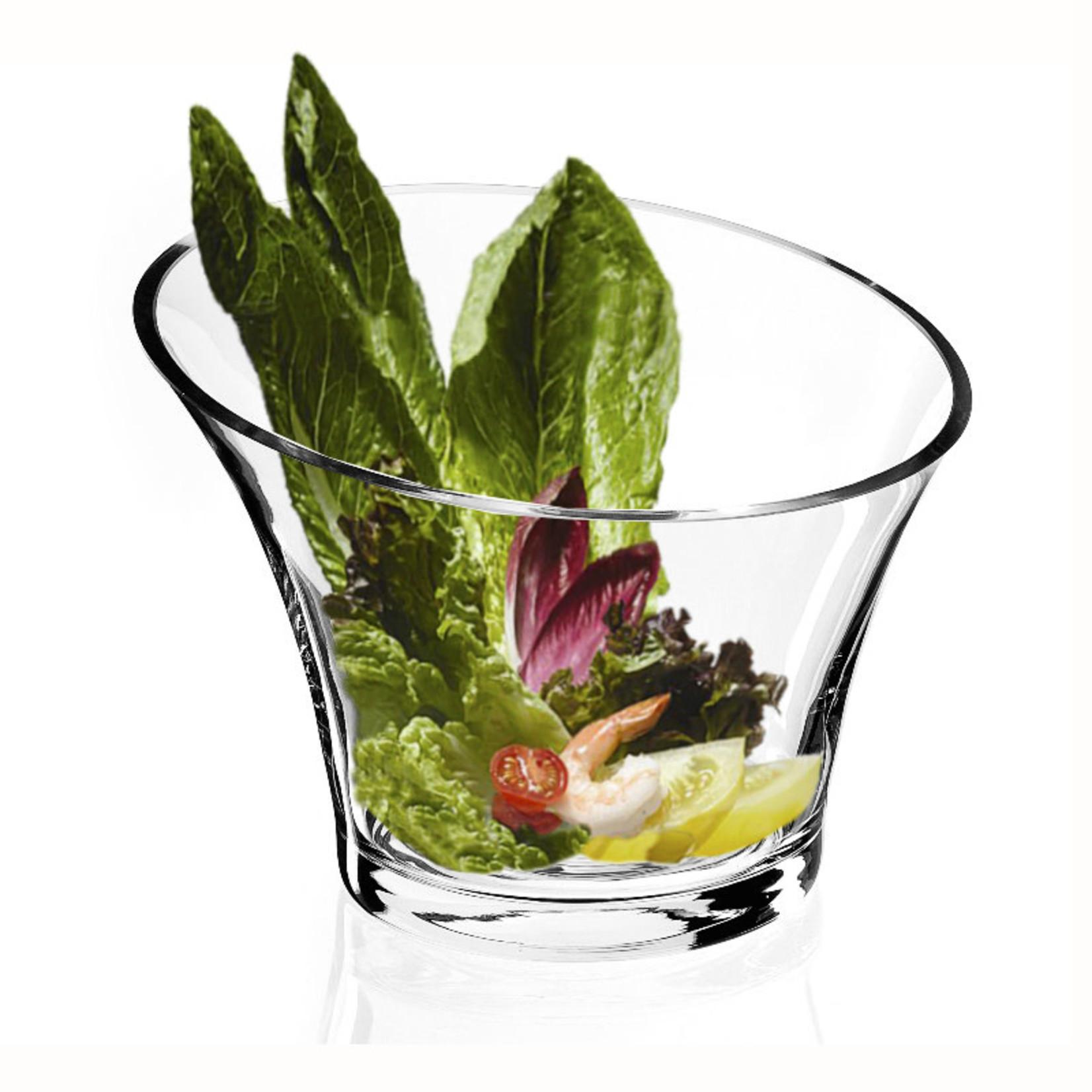 Natural Living Slant-Cut Salad Bowl
