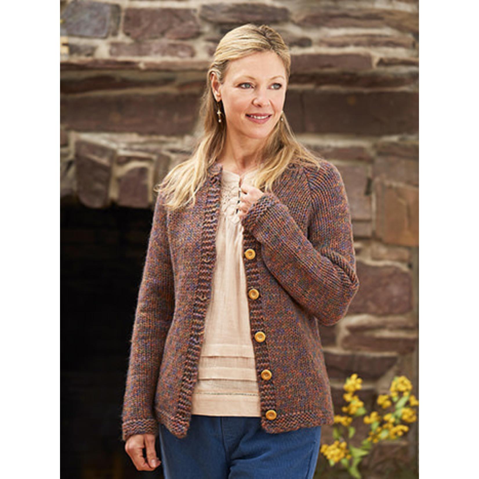 April Cornell County Melange Sweater