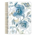 Legacy Blue Flowers & Dragonfly Notebook
