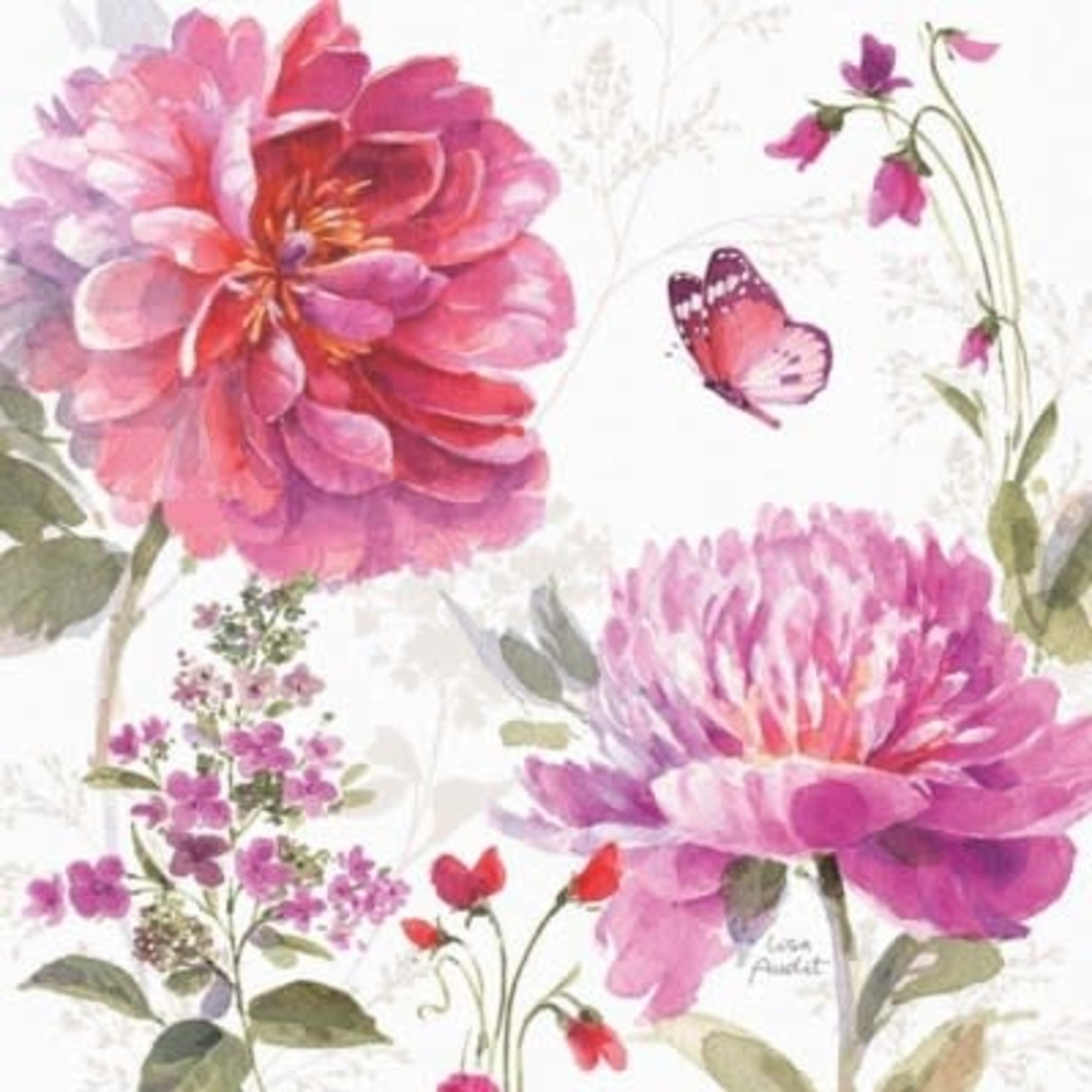 Legacy Obviously Pink Flowers In Vase Notebook