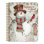 Legacy Snowman with sled Notebook