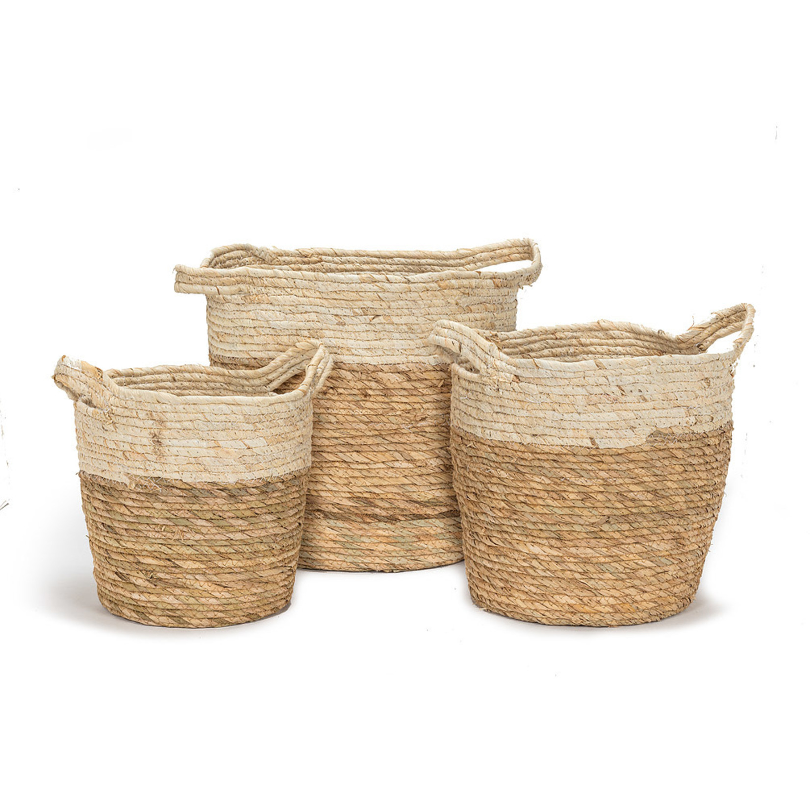 Abbott Abbott Large Handled Basket Natural