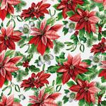 Abbott Poinsettia Napkins