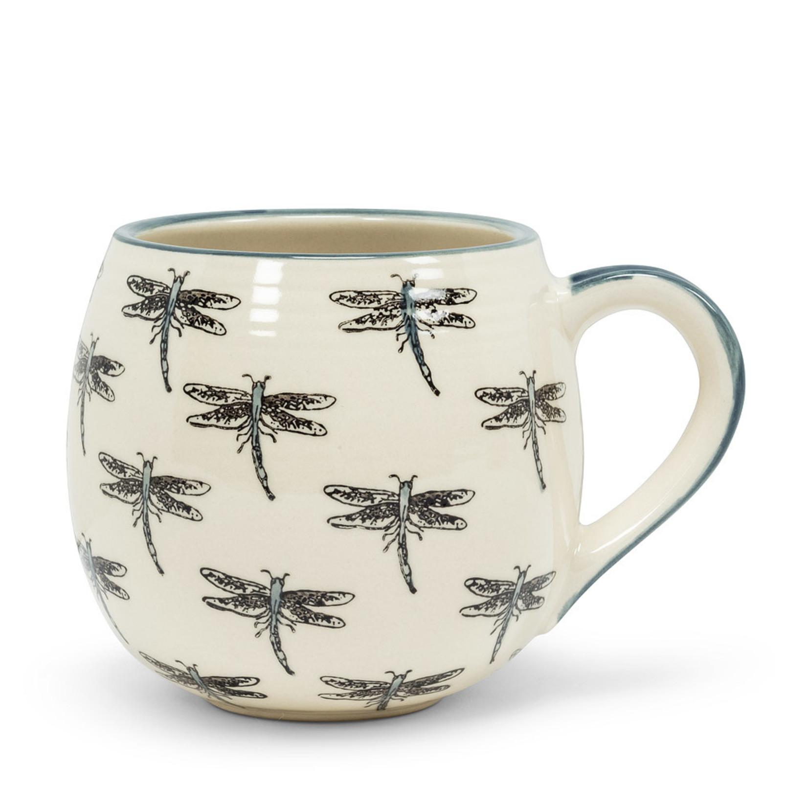 Abbott Allover Dragonfly Ball Mug