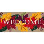 Sassafras Welcome Fall Leaves
