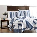 Peace Arch Quilts Azure Stripe Quilt