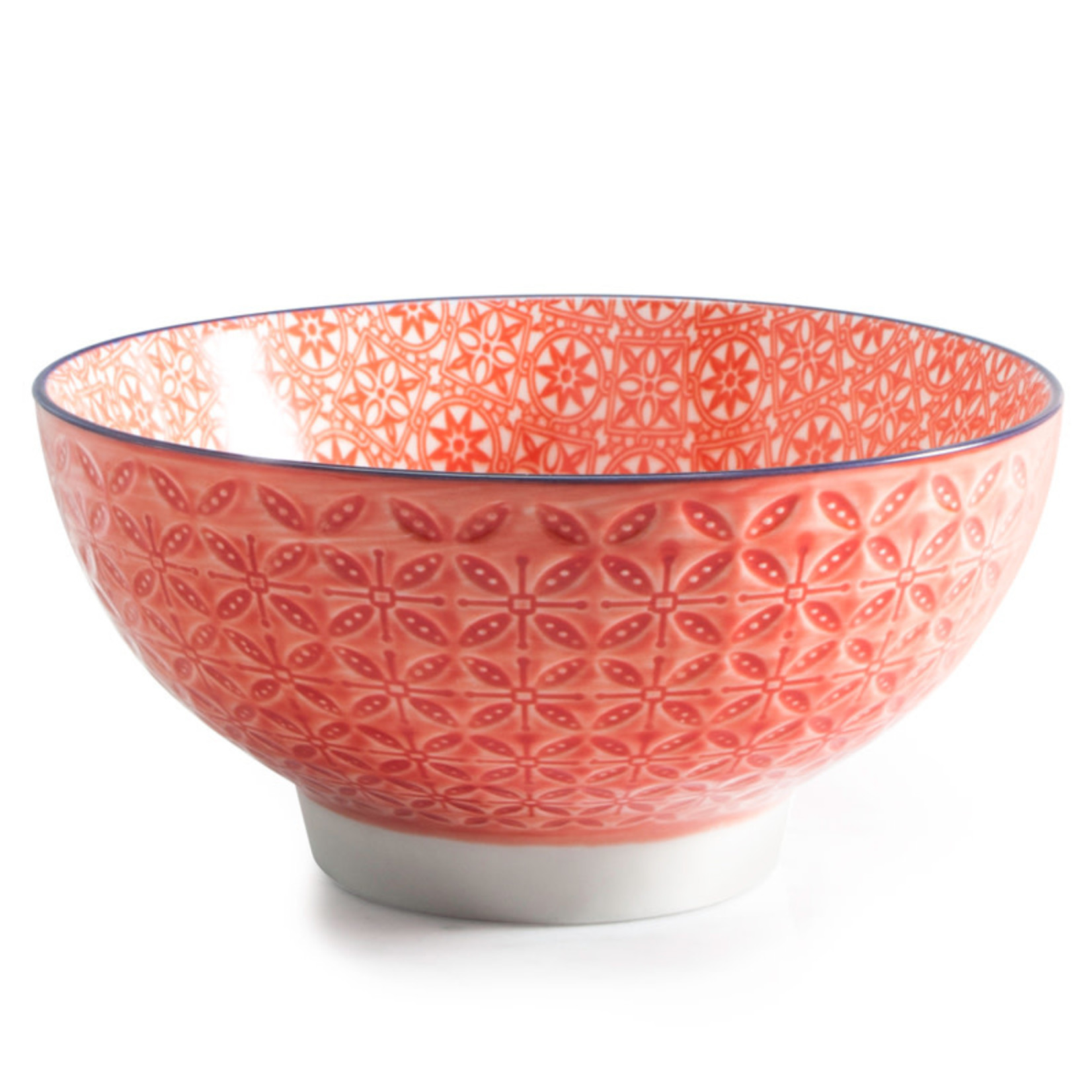 BIA ASTER Footed Bowl red