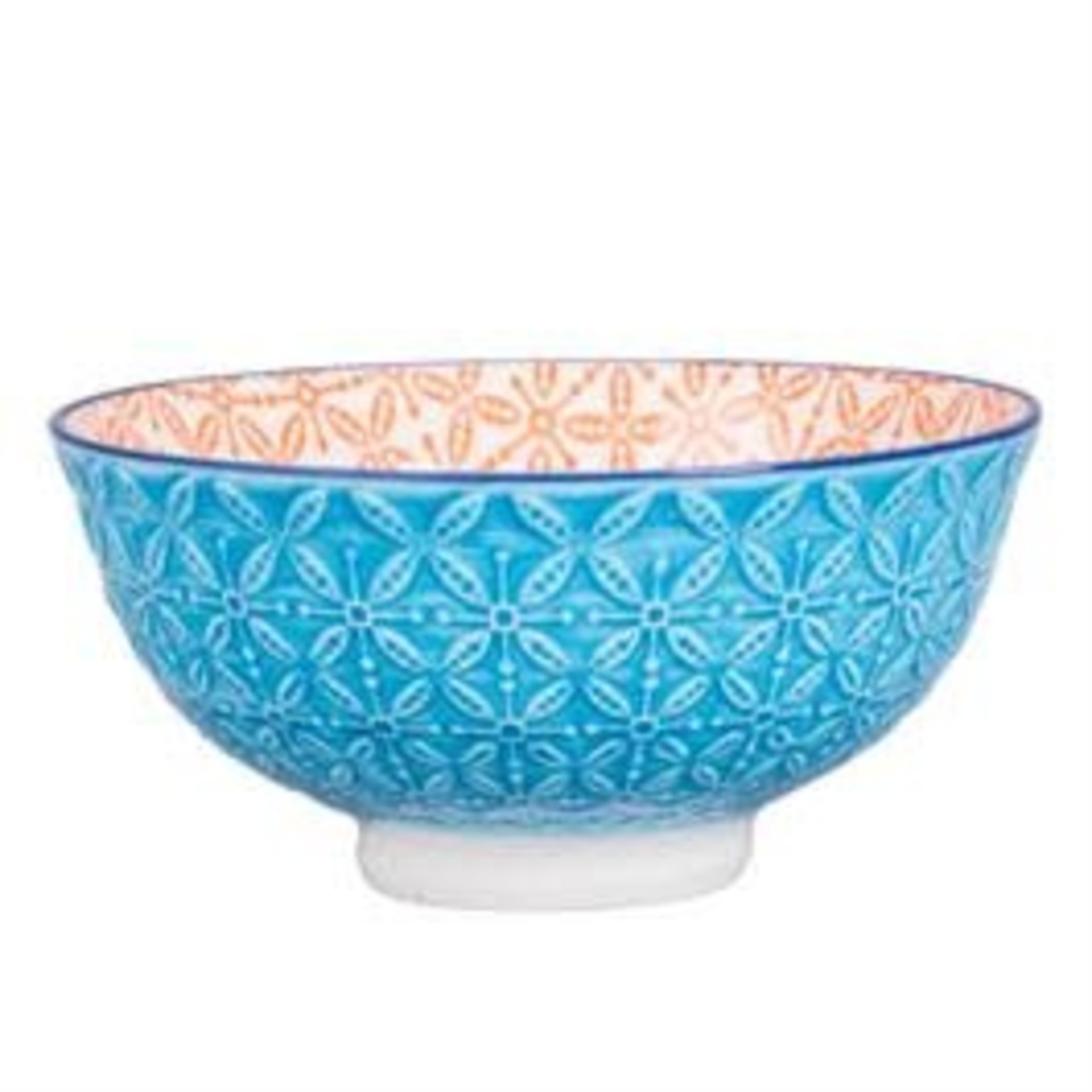 BIA ASTER Footed Bowl org/turq
