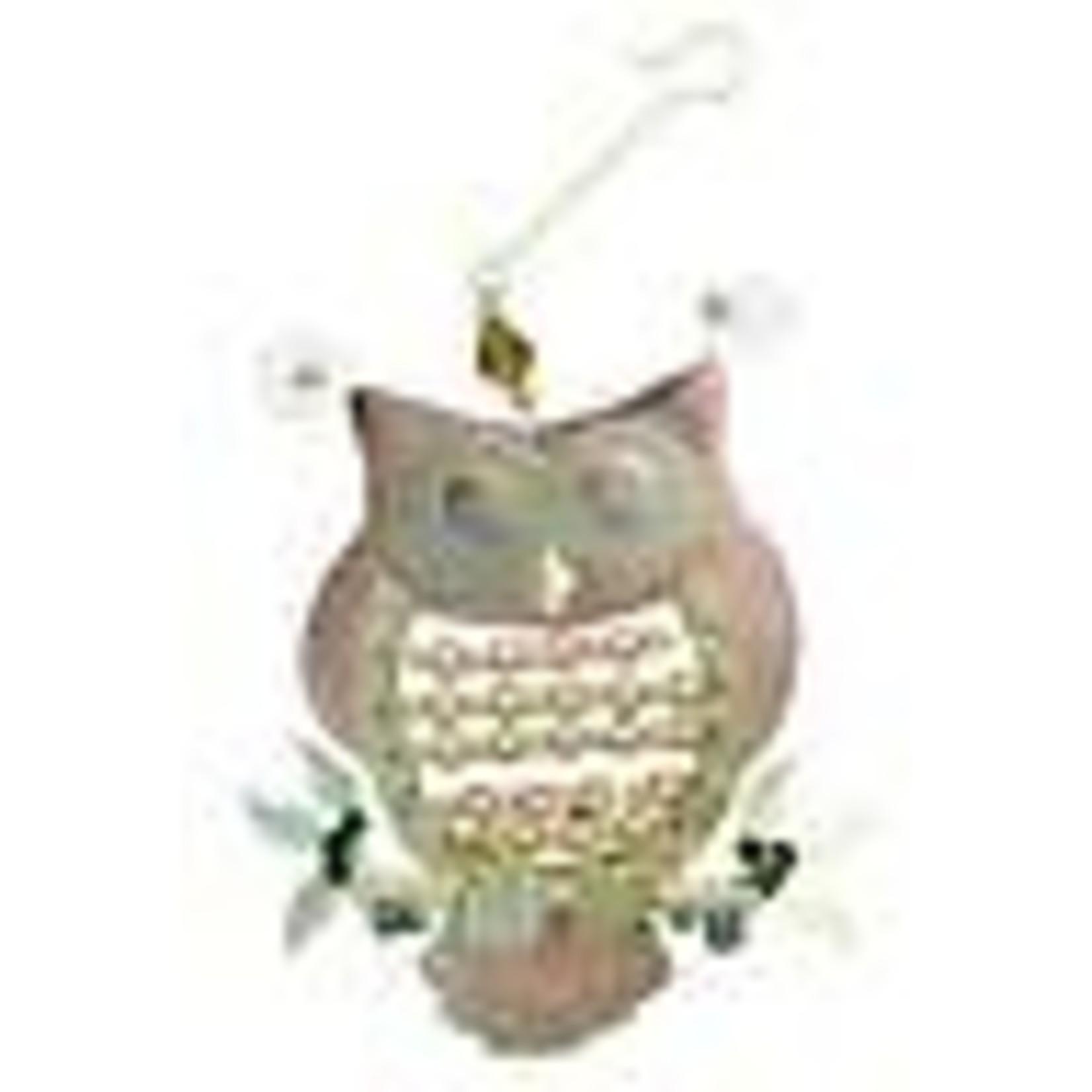Pilgrim Imports Beaded Owl