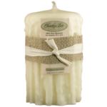 Cheeky Bee Candles Dripped Ivory 3.5x5