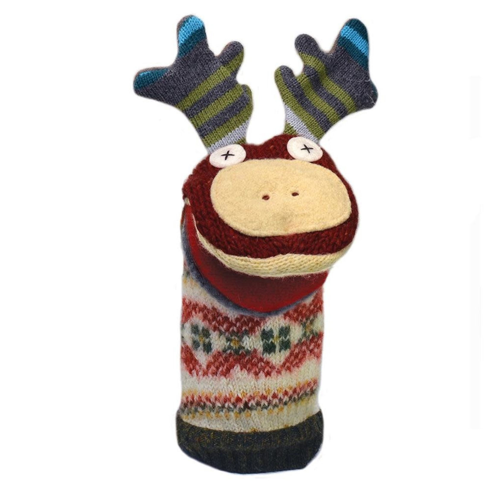 cate & levi Moose Puppet