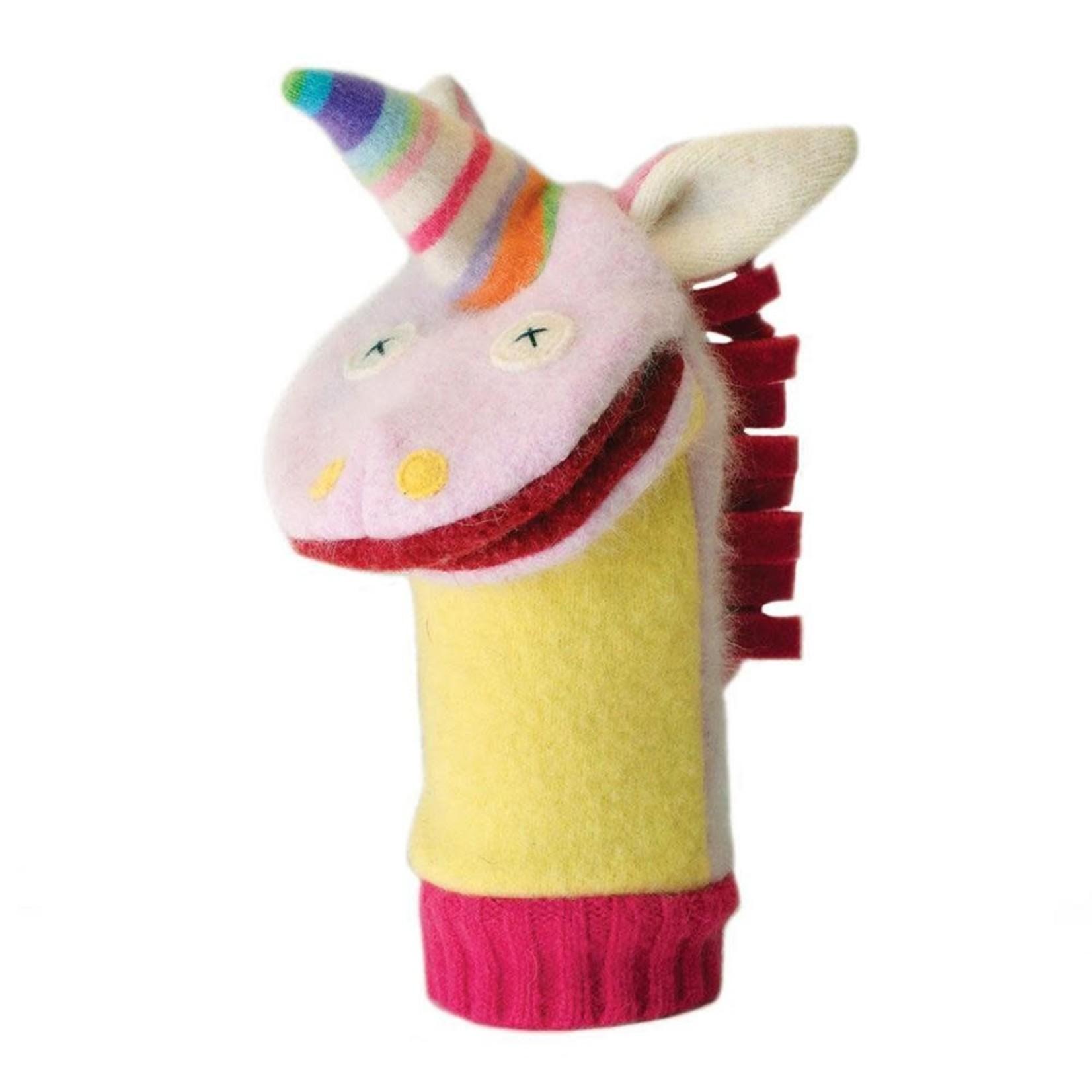 cate & levi Unicorn Puppet