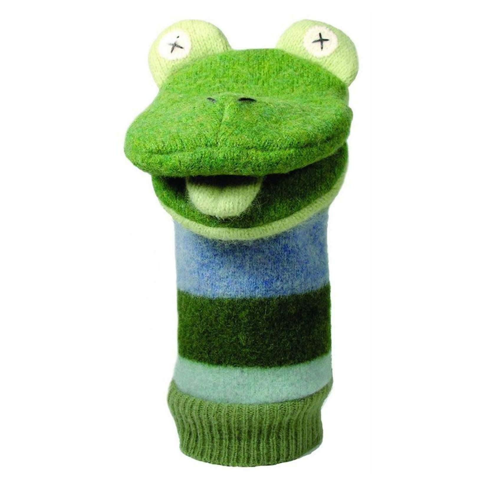 cate & levi Frog Puppet