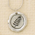 Basic Spirit Fern Symbol Pendant