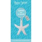 Basic Spirit Starfish Keychain