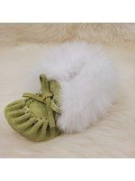 LAURENTIAN CHIEF BABY MOCCASINS 296B